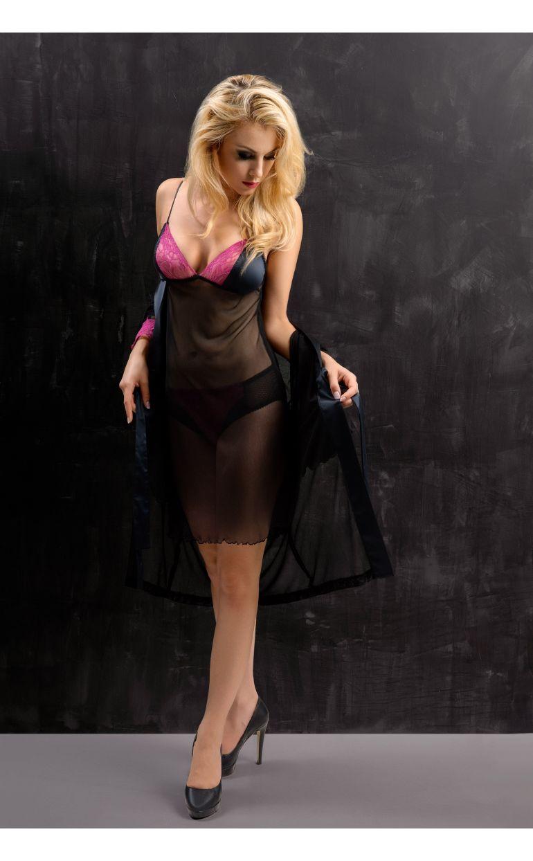 Peignoir Rose Seduction