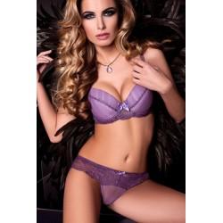 Purple Velvet Push Up