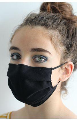 Masque réutilisable 100% Coton NON Normé DGA (lot de 10 Couleur Noir)