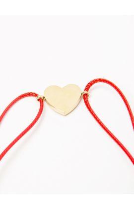 Bracelet rouge St valentin