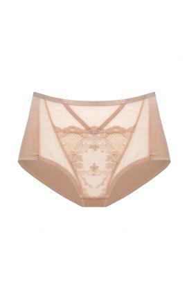 Venetia high cut panties black /beige